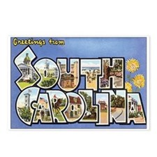 South Carolina Postcards (Package of 8)