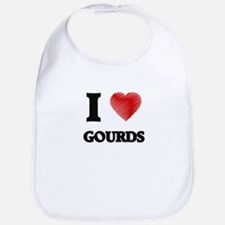 I love Gourds Bib