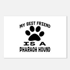 Pharaoh Hound Is My Best Postcards (Package of 8)