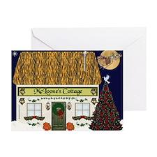 McLoone's Irish Cottage Christmas Cards (Pk of 20)