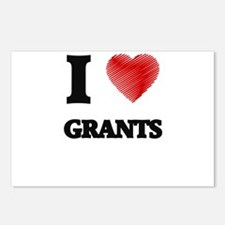 I love Grants Postcards (Package of 8)