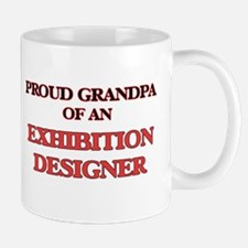 Proud Grandpa of a Exhibition Designer Mugs