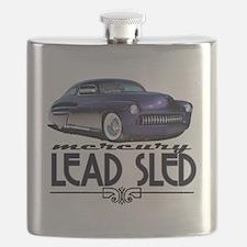 Funny Vintage Flask