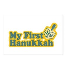 My First Hanukkah Postcards (Package of 8)