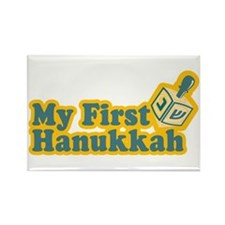 My First Hanukkah Rectangle Magnet