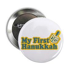 "My First Hanukkah 2.25"" Button"