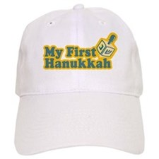 My First Hanukkah Baseball Cap