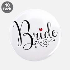 "Elegant Bride 3.5"" Button (10 pack)"