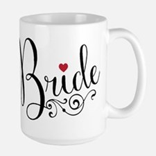 Elegant Bride Large Mug