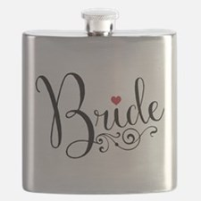 Elegant Bride Flask