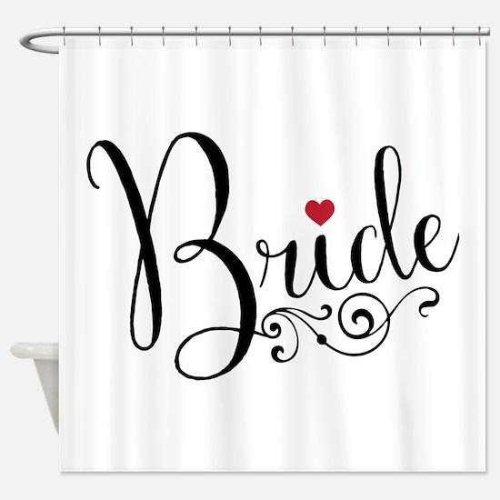 Elegant Bride Shower Curtain