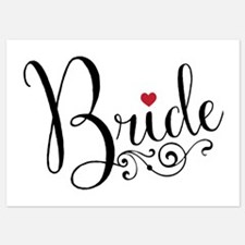 Elegant Bride Invitations