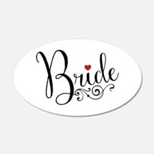 Elegant Bride Wall Decal