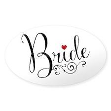 Elegant Bride Decal