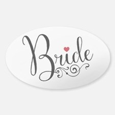 Elegant Bride Decal