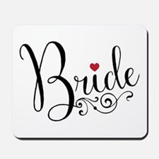 Elegant Bride Mousepad