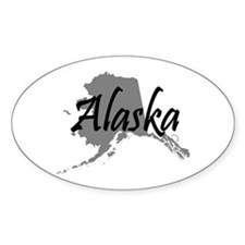 Alaska State Oval Decal