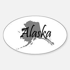 Alaska State Oval Decal
