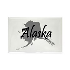 Alaska State Rectangle Magnet