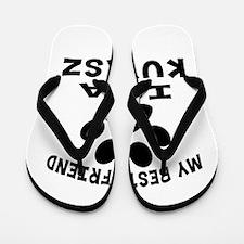 Kuvasz Is My Best Friend Flip Flops