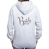 Bride Zip Hoodies