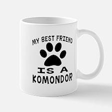 Komondor Is My Best Friend Mug