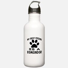 Komondor Is My Best Fr Water Bottle