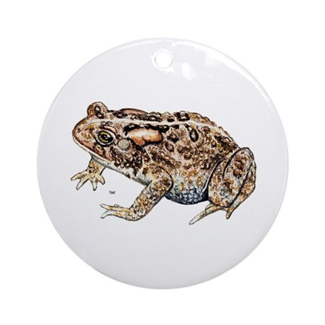 Toad Ornament (Round)