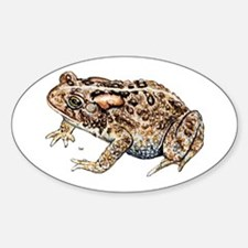 Toad Oval Decal
