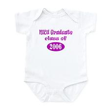 NICU Graduate Class of 2006 - Pink Infant Bodysuit