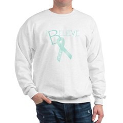 Lt. Teal Ribbon Sweatshirt