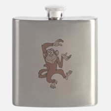 Monkey Excited Flask