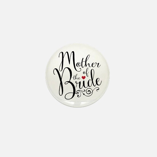 Mother of Bride Mini Button (10 pack)