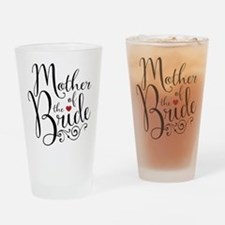 Mother of Bride Drinking Glass
