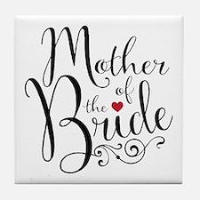 Mother of Bride Tile Coaster