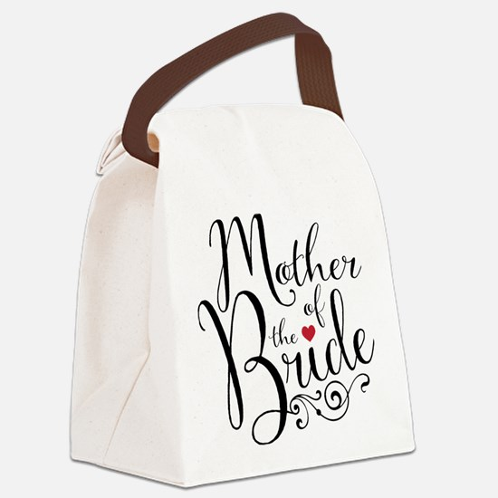 Mother of Bride Canvas Lunch Bag