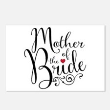 Mother of Bride Postcards (Package of 8)