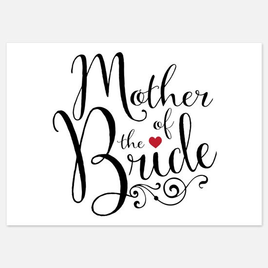 Mother of Bride 5x7 Flat Cards