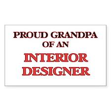 Proud Grandpa of a Interior Designer Decal