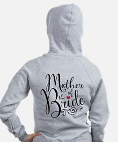 Mother of Bride Zip Hoodie
