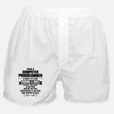 Being A Computer Programmer.... Boxer Shorts