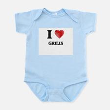 I love Grills Body Suit