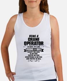 Being A Crane Operator... Tank Top