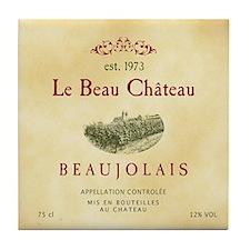 Le Beau Chateau Tile Coaster