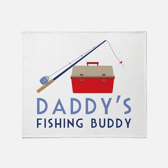 Fishing Buddy Throw Blanket