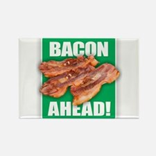 BACON AHEAD! Magnets