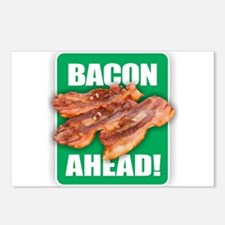 BACON AHEAD! Postcards (Package of 8)