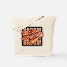 Bacon Bacon Bacon Tote Bag