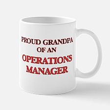Proud Grandpa of a Operations Manager Mugs