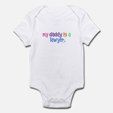 My Daddy Is A Lawyer (PASTEL) Infant Bodysuit